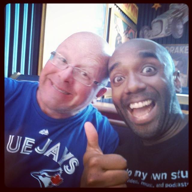 Hot bald guys selfie!  Hobagufie!  #selfiegram #allthefilters