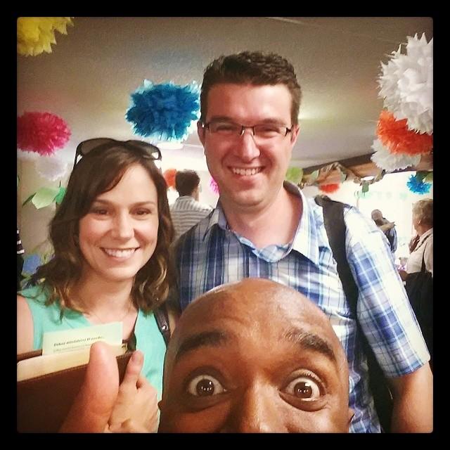 Anniversary selfie (of a fantastic couple)! Anelfie(oafancou)! #selfiegram #allthefilters