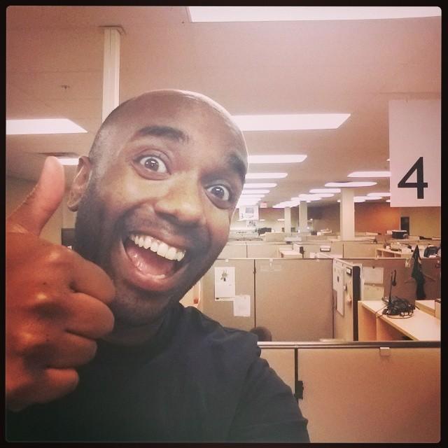 After-work selfie!  Awelfie!  #selfiegram #allthefilters