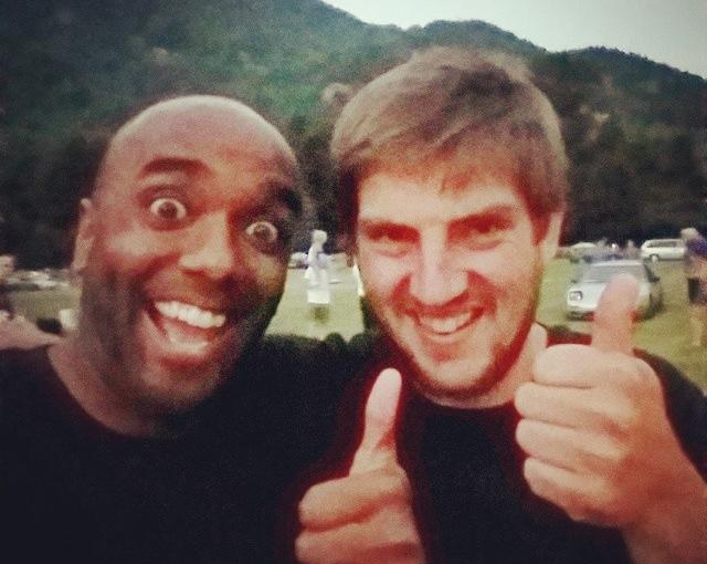 Old-school-friend selfie!  Olschelfie! #selfiegram #allthefilters