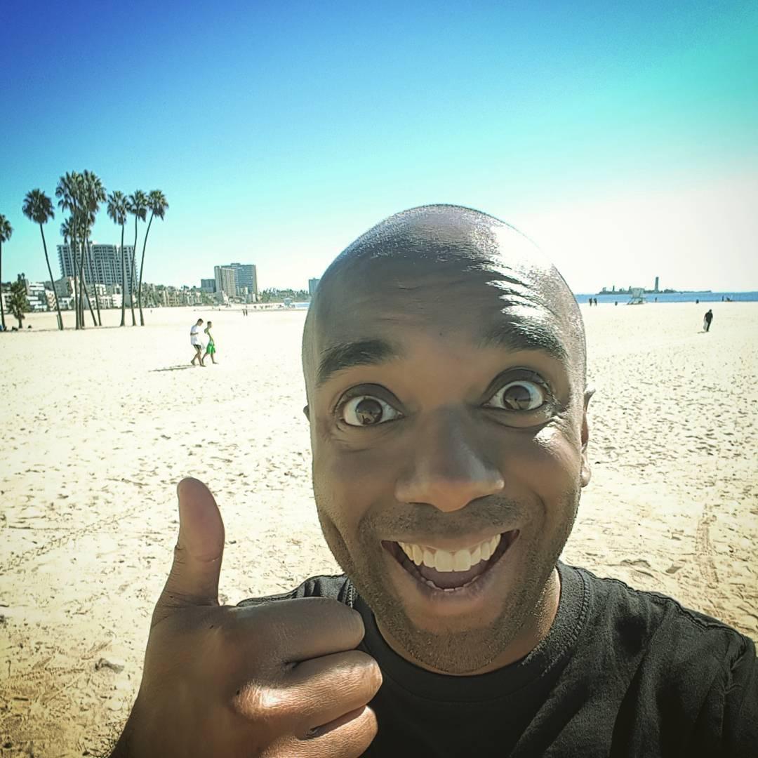 Long Beach beach selfie!  Lobebelfie! #selfiegram #threactualbeach #westsiiiiiiide #twitchcon2017