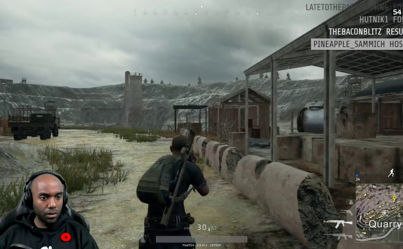 Twitch Highlight – PUBG – I'm a clever girl.