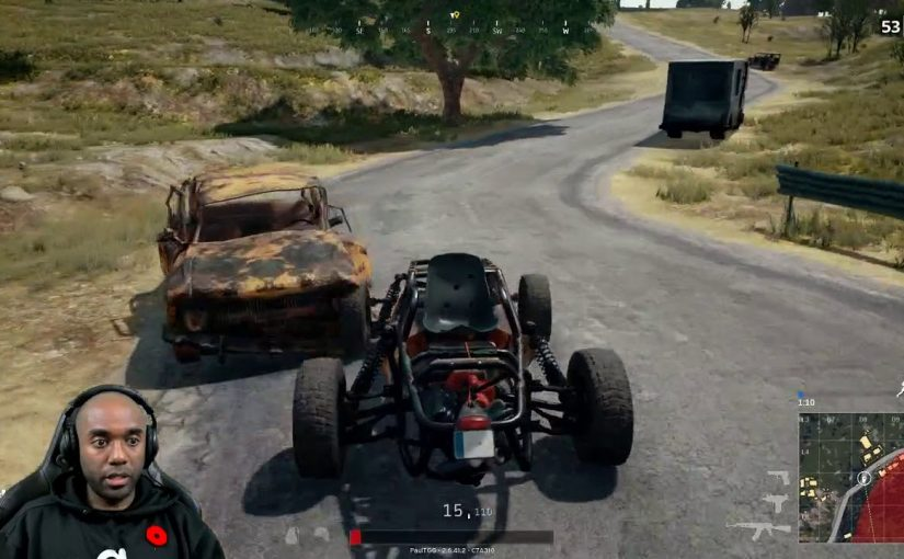 Twitch Highlight – PUBG – Don't chat and drive