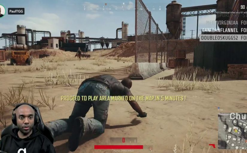 Twitch Highlight – I found someone as bad as me at PUBG!