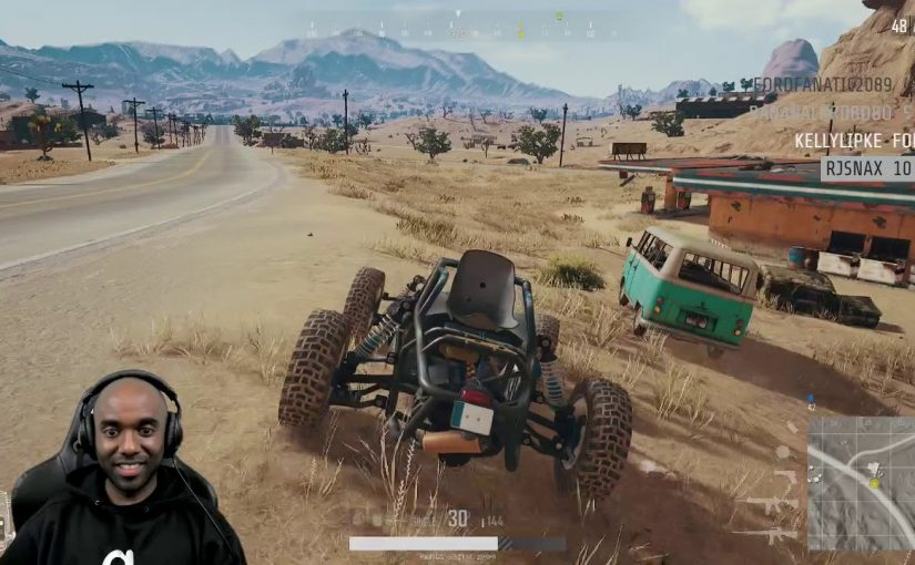 Twitch Highlight – PUBG – Ever have the feeling you're being followed?