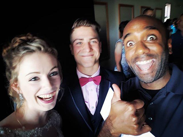 Wedding selfie!  Wedelfie!  #selfiegram #morganandmichael #onlytwopeoplefainted