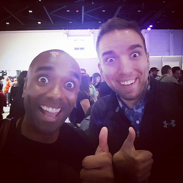 Silly IG picture selfie!  Siligpicelfie!  #selfiegram #hewastakingasillyselfiesoiintroducedmyself #twitchcon