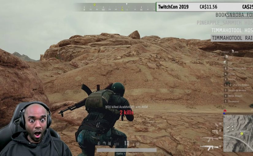 Twitch Highlight – PUBG – One of us was VERY unlucky!