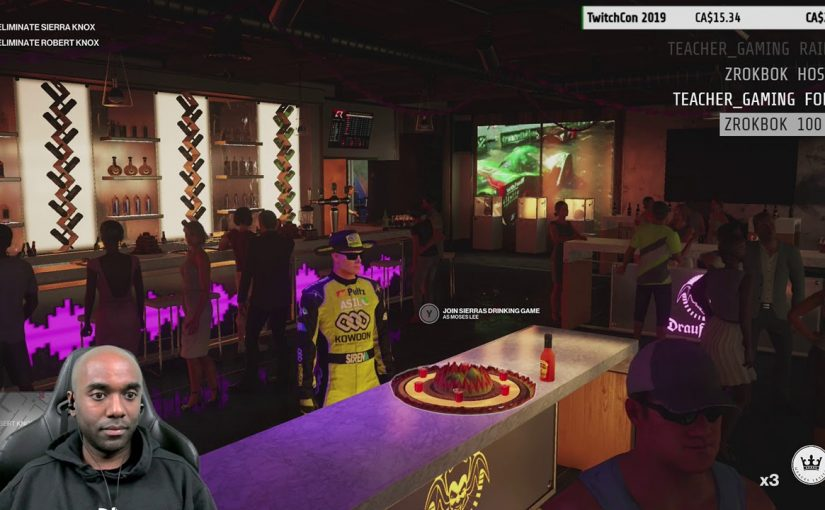 Twitch Highlight – Hitman 2 Dance Party!!!