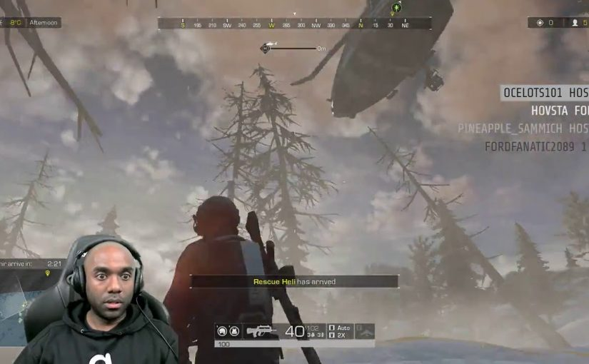 Twitch Highlight – RoE – Helicopter-flying COW!