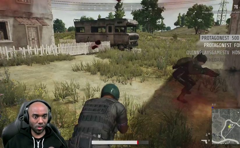Twitch Highlight – PUBG – Blinded by the pew-pews