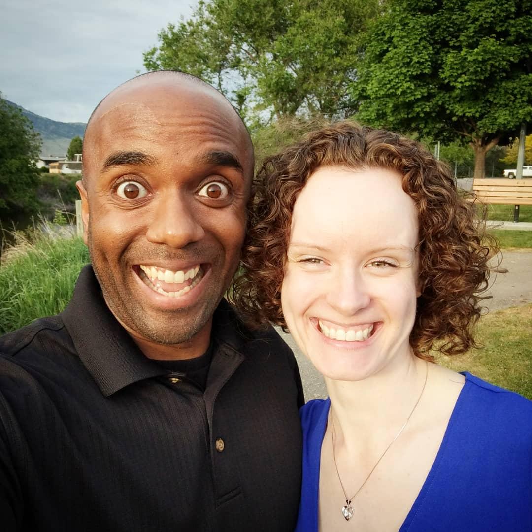 Sixth anniversary selfie!  Sanelfie!  #selfiegram #nofilter #yesvignette #iwasgrabbingherbutt